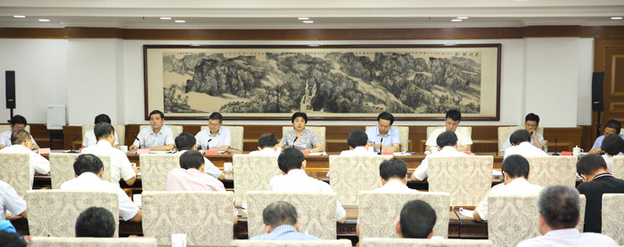 梁惠玲在各市纪委半年工作会议上要求 扎扎实实做好监督执纪问责各项工作 以优异成绩迎接党的十九大胜利召开