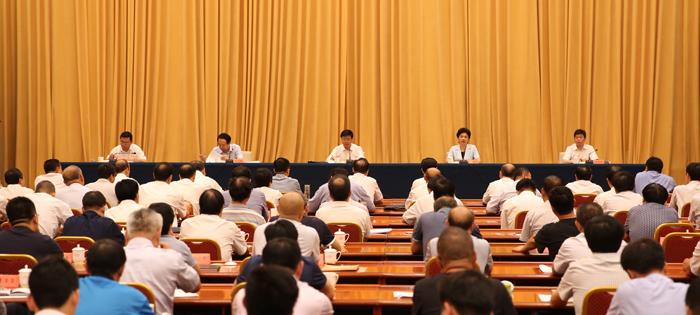 九届省委第二轮巡视工作动员部署会强调:聚焦政治巡视 发挥利