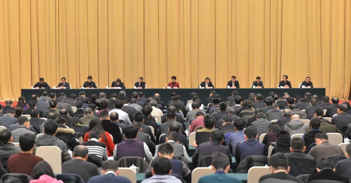 梁惠玲在省纪委监委全体干部大会上强调:不忘初心 接续奋斗