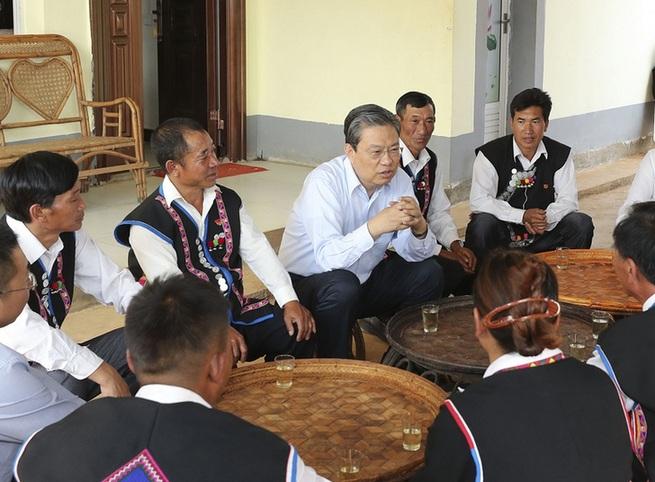 赵乐际在云南调研时强调 忠实履行党章宪法赋予的职责 扎实推