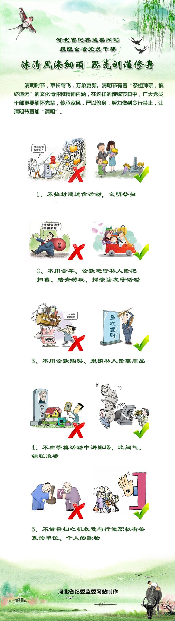 河北省纪委监委网站提醒全省党员干部