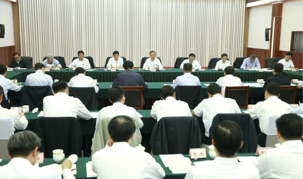 赵乐际:坚定不移深化政治巡视 坚决维护习近平总书记核心地位