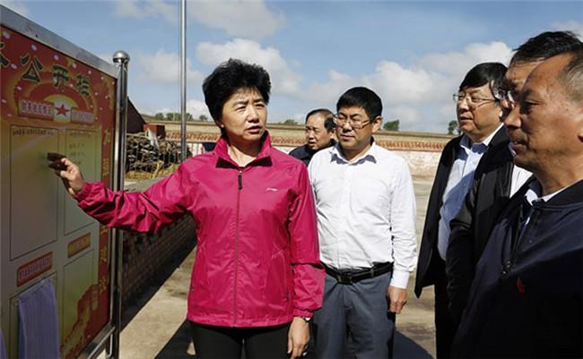 梁惠玲在张家口调研时强调 落实政治责任 坚决彻底整改