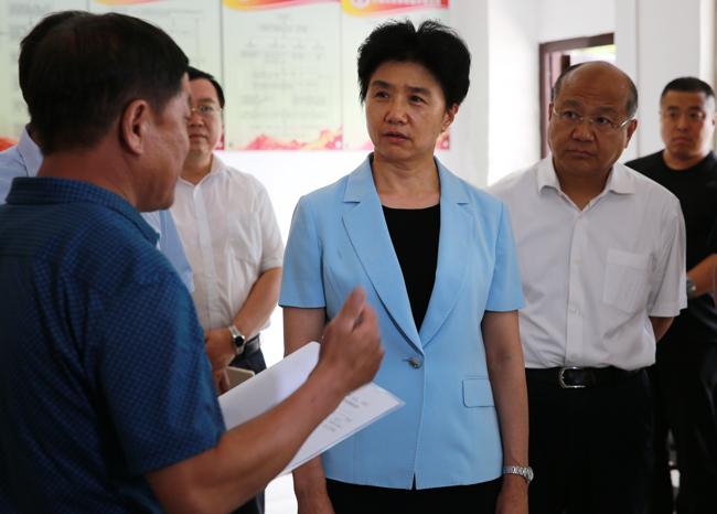 梁惠玲在邯郸衡水督导调研时强调 着力解决突出问题 务求整改