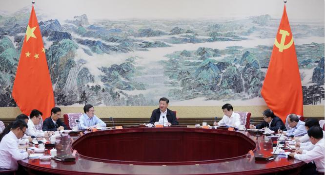 习近平在同团中央新一届领导班子成员集体谈话时强调:代表广